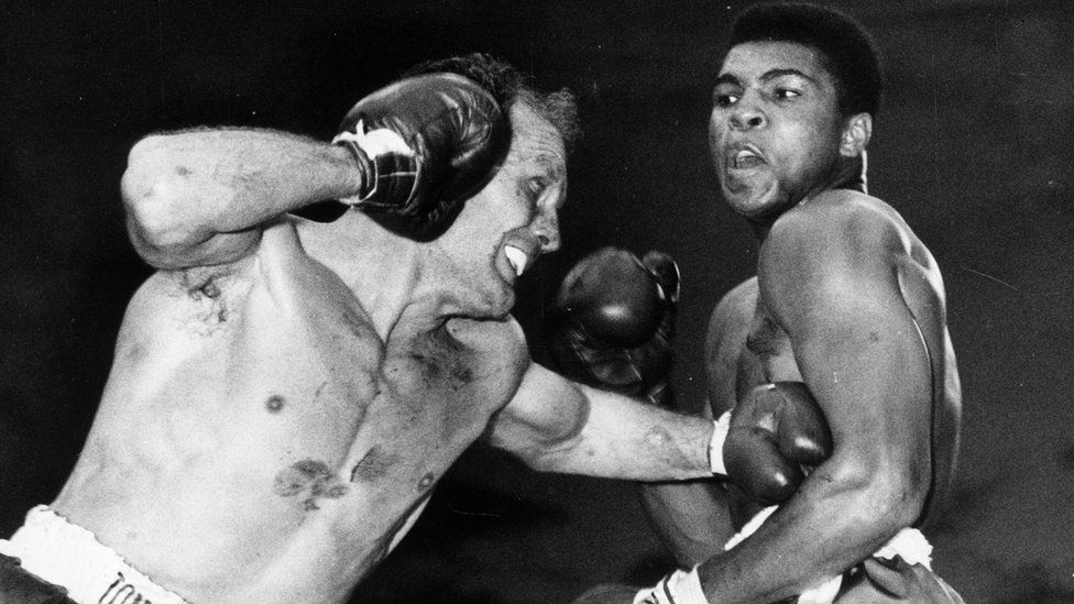 Ali, then known as Cassius Clay, fought Henry Cooper at Wembley in 1963