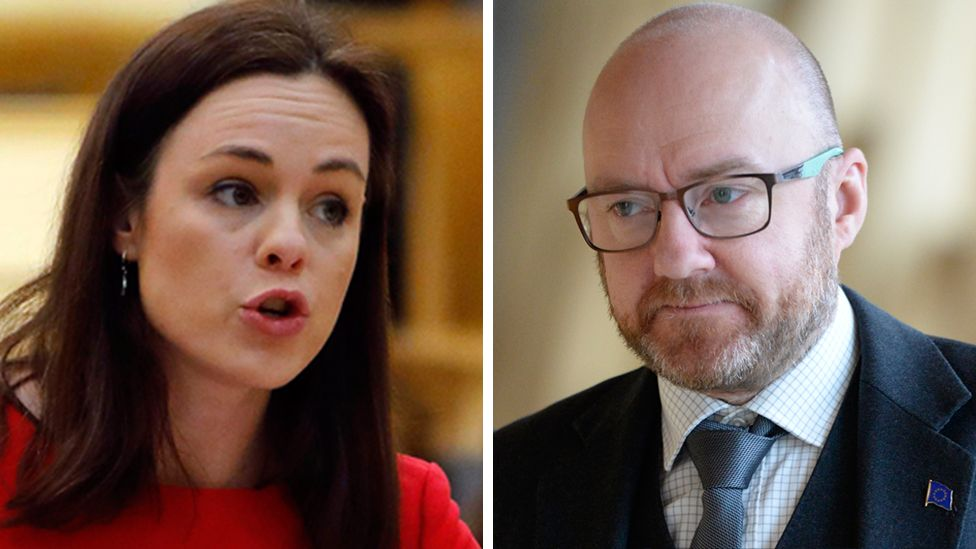 Kate Forbes and Patrick Harvie