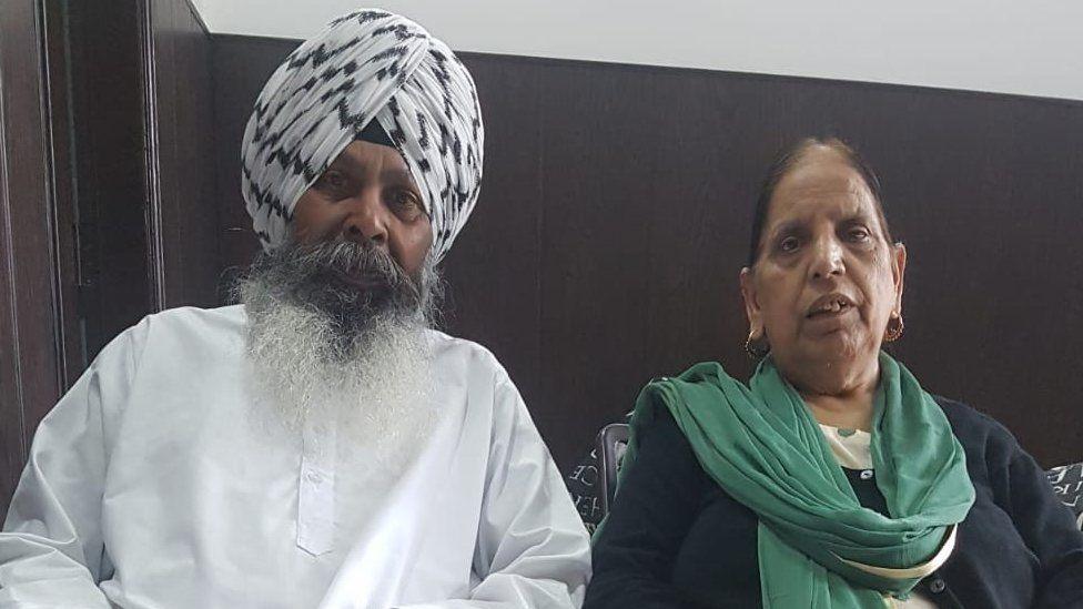 Bikramjit Sekha and Suriender Kaur