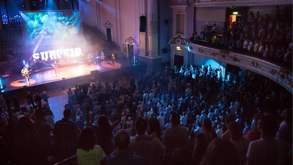 The church had previously held a Surge conference at the Usher Hall