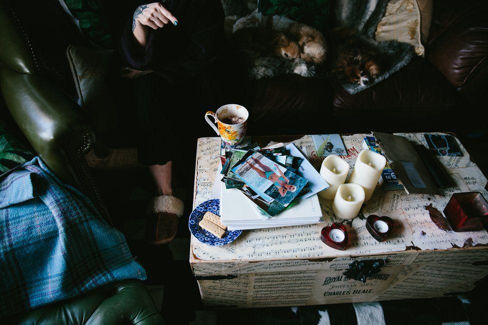 Melanie Semple's coffee table