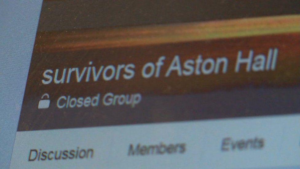 Close up of a Facebook group