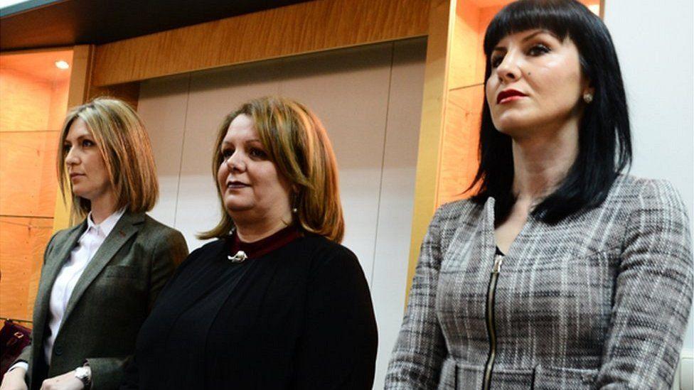 Katica Janeva and her fellow special prosecutors