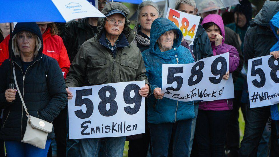 We deserve better rally Enniskillen