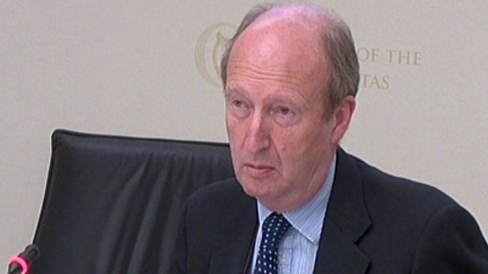 Irish Minister for Sport Shane Ross