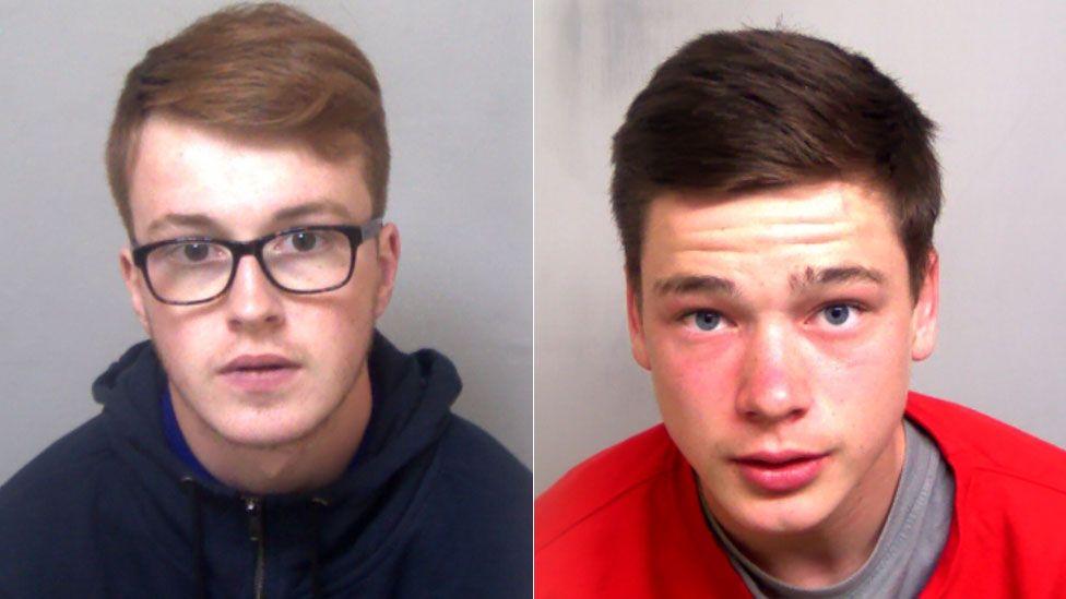 Tate Heeney, left, and Ben Goodspeed