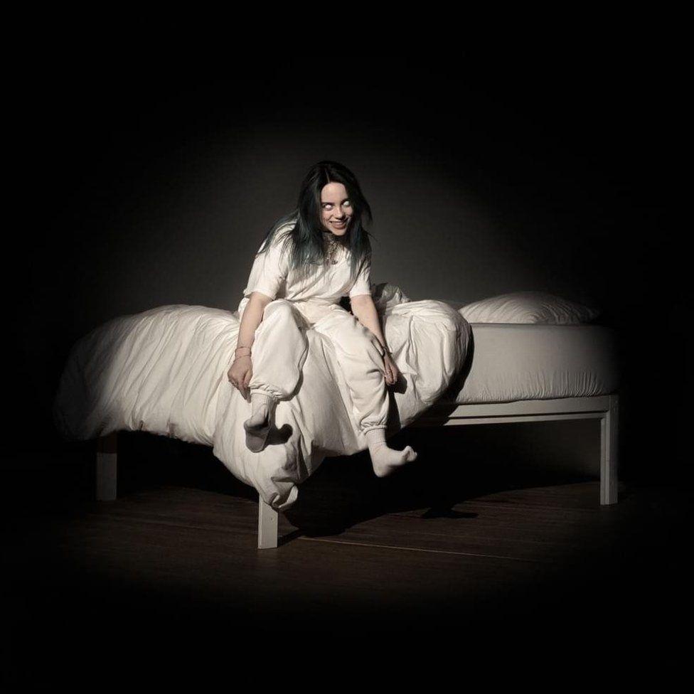 Artwork for Billie Eilish's When We All Fall Asleep Where Do We Go