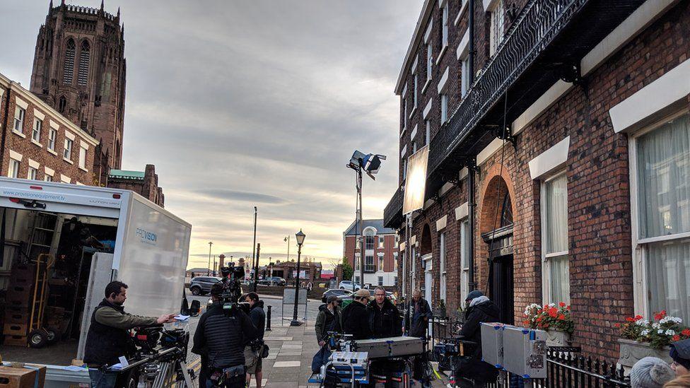 Filming of Gentleman Jack