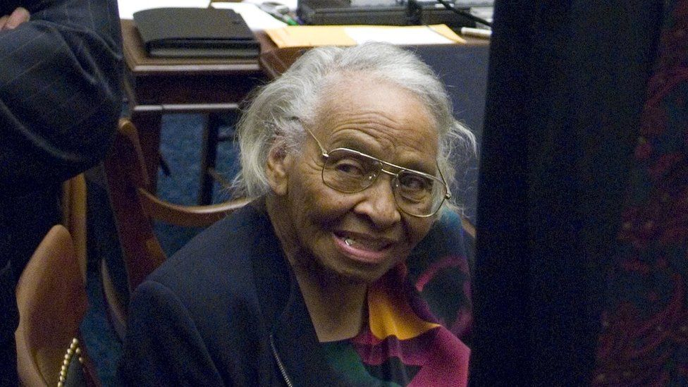 Olivia Hooker pictured in 2007