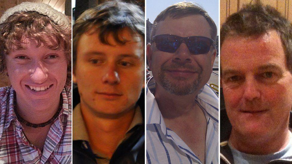 James Male, Andrew Bridge, Steve Warren, Paul Goslin