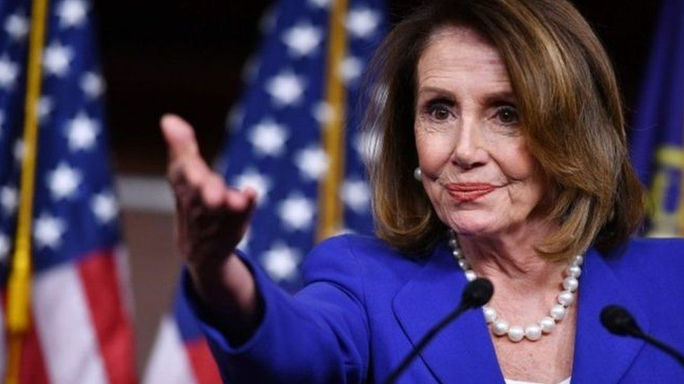 Nancy Pelosi is House of Representatives Speaker