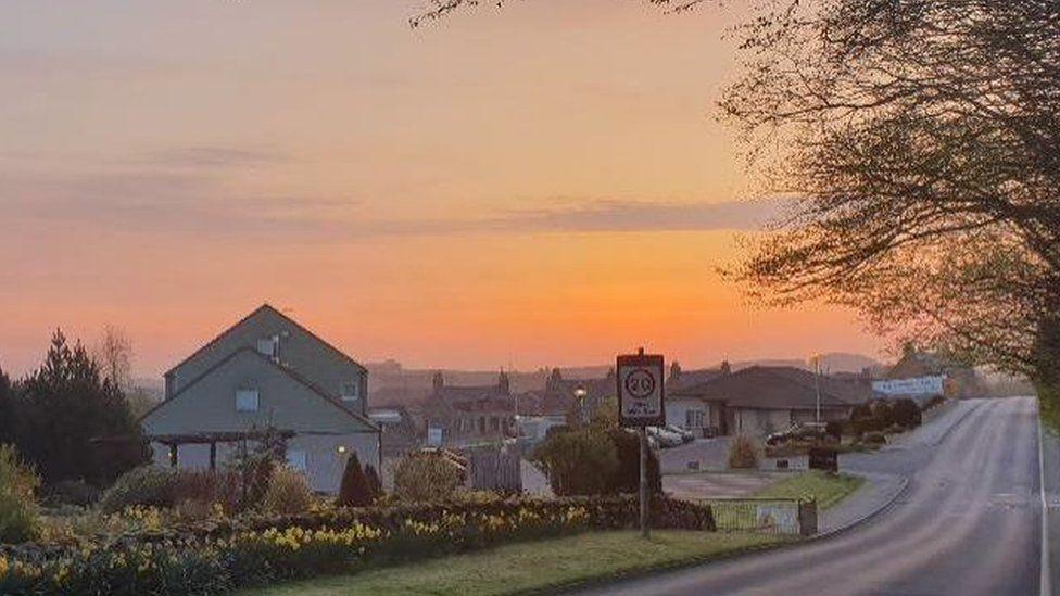 Aberdeenshire sky