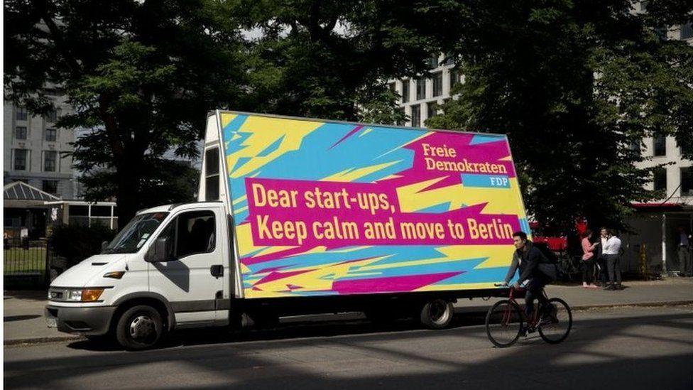 Berlin advert
