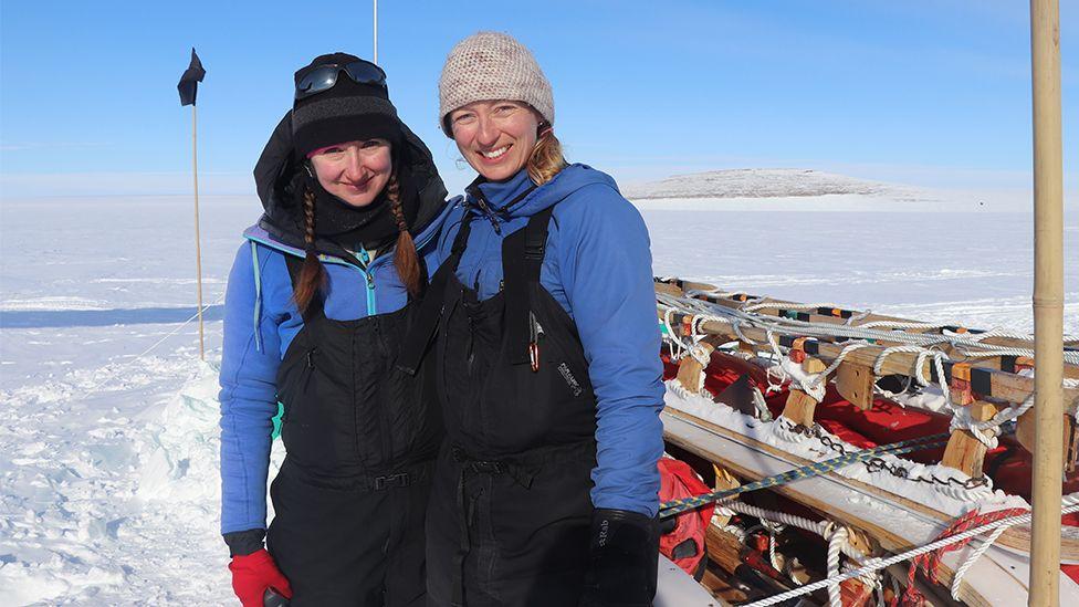 Katie Joy and Julie Baum
