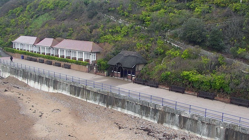 The Eastbourne shelter where Jennifer Kiely's body was found