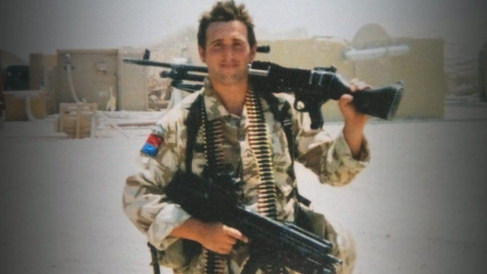 Ben Parkinson as a serving soldier