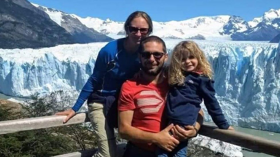 Ceri Welchman and family