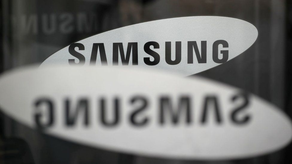 The logo of Samsung Electronics is seen at its office building in Seoul, South Korea, 23 March, 2018.
