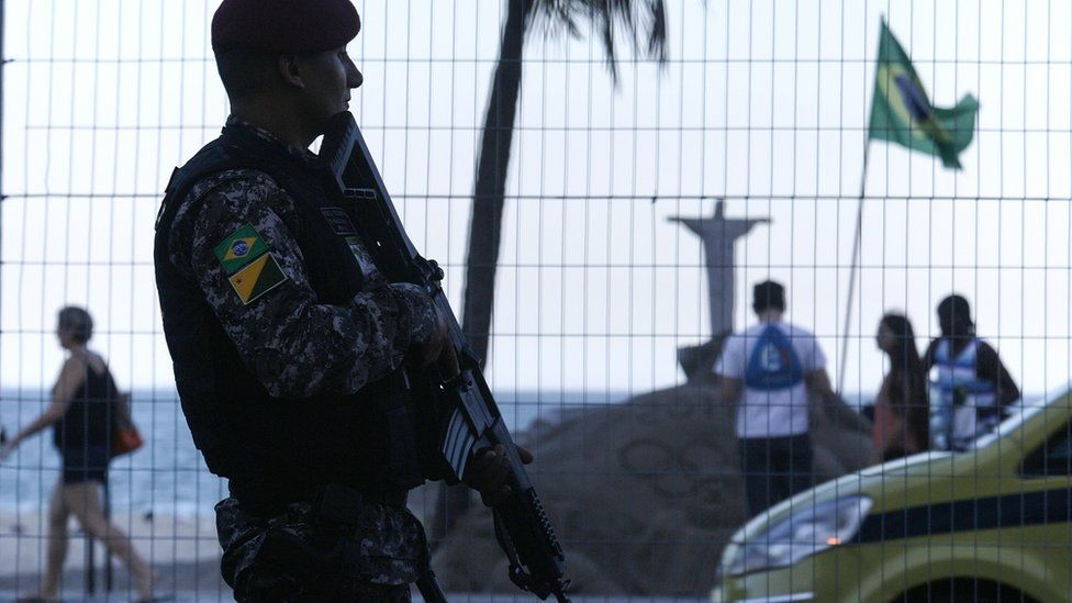 Soldier in Rio