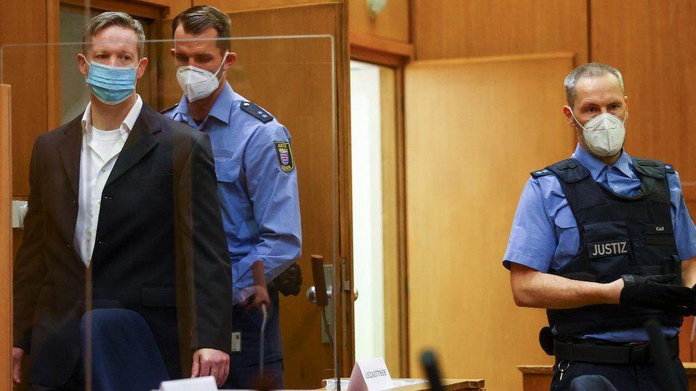 Ernst in court (L), 28 Jan 21