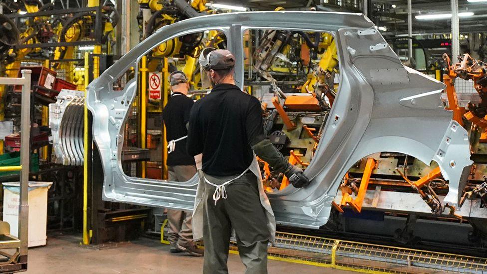 Car worker at Nissan Sunderland
