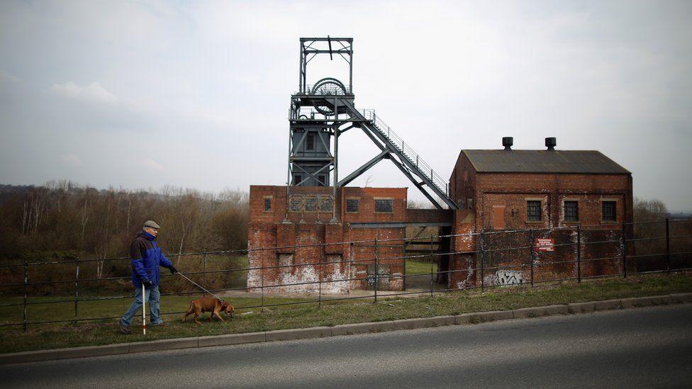The former Barnsley Main Colliery