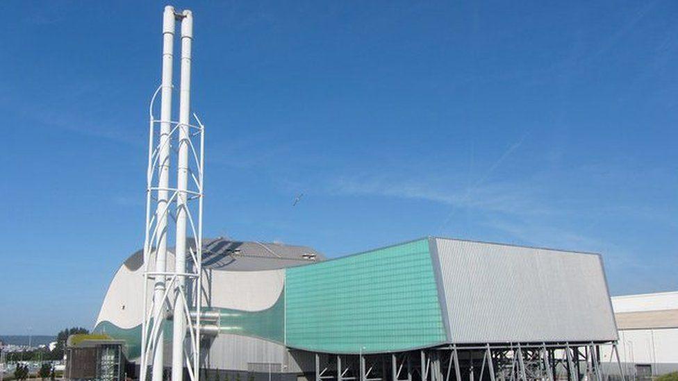 The Viridor incinerator in Cardiff