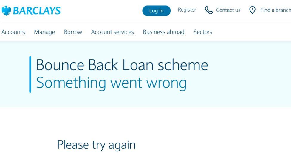 Barclays screen grab