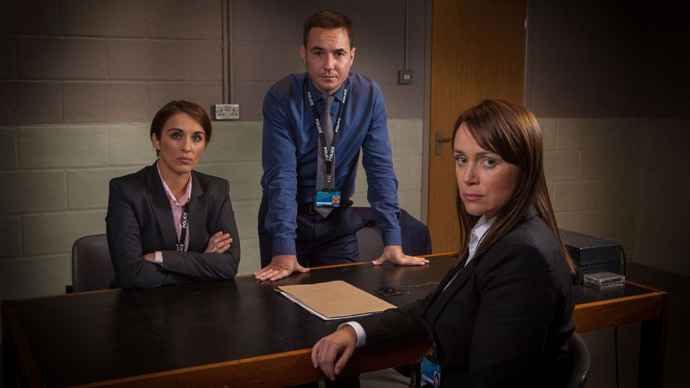 Vicky McClure, Martin Compston and Keeley Hawes in Line of Duty