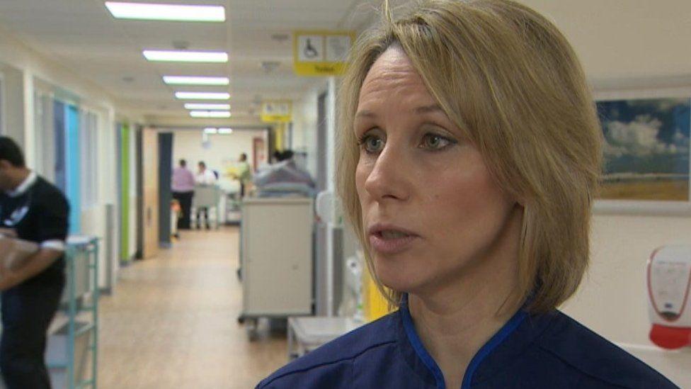Catherine Morgan, director of nursing at The Queen Elizabeth Hospital in King's Lynn