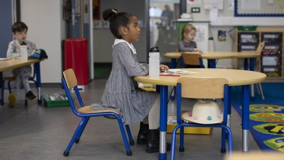Some schools in England have already reopened
