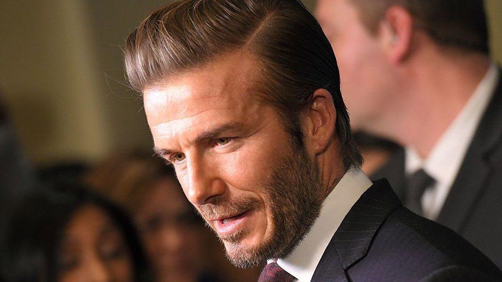 David Beckham, footballer