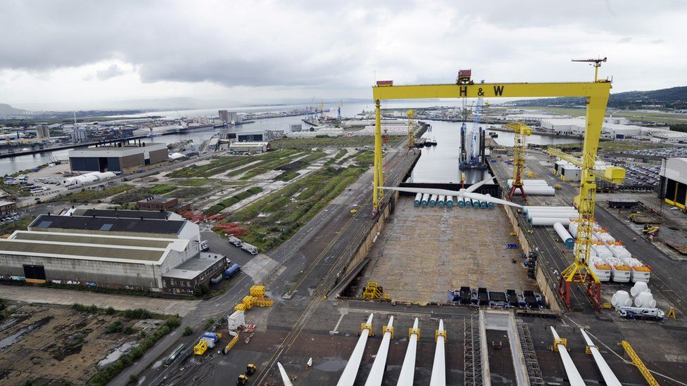 Harland and Wolff stopped shipbuilding in 2003