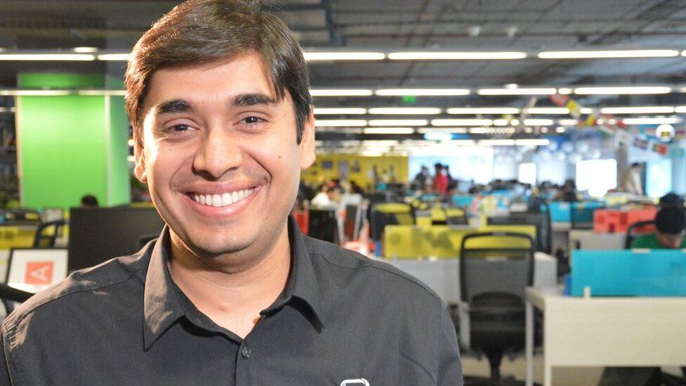 Naveen Tewari, Chief Executive of InMobi