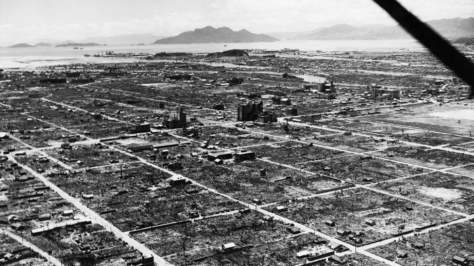 O insólito lugar onde foram parar pedaços de construções dizimadas pela bomba de Hiroshima