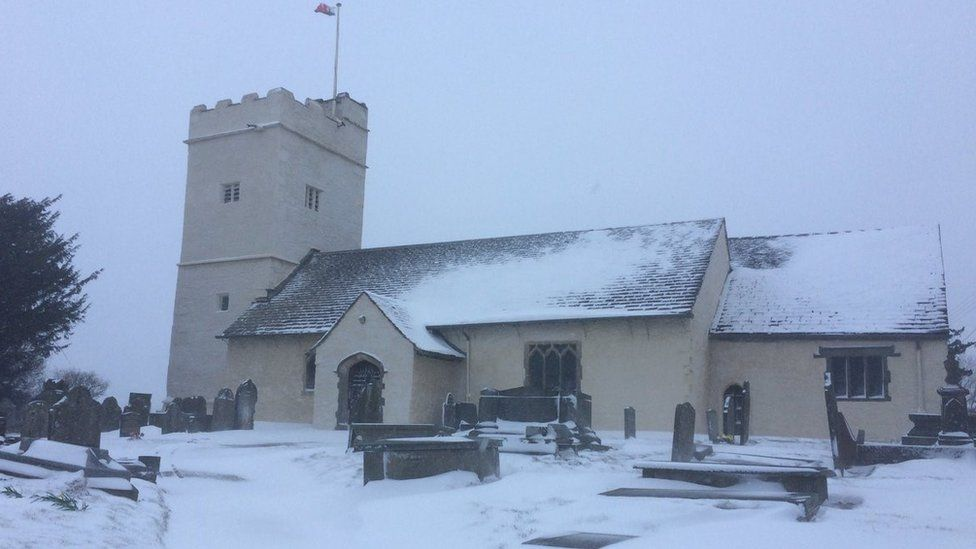 St Sannan in Bedwellty