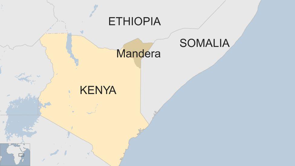 Kenya border Mandera wall