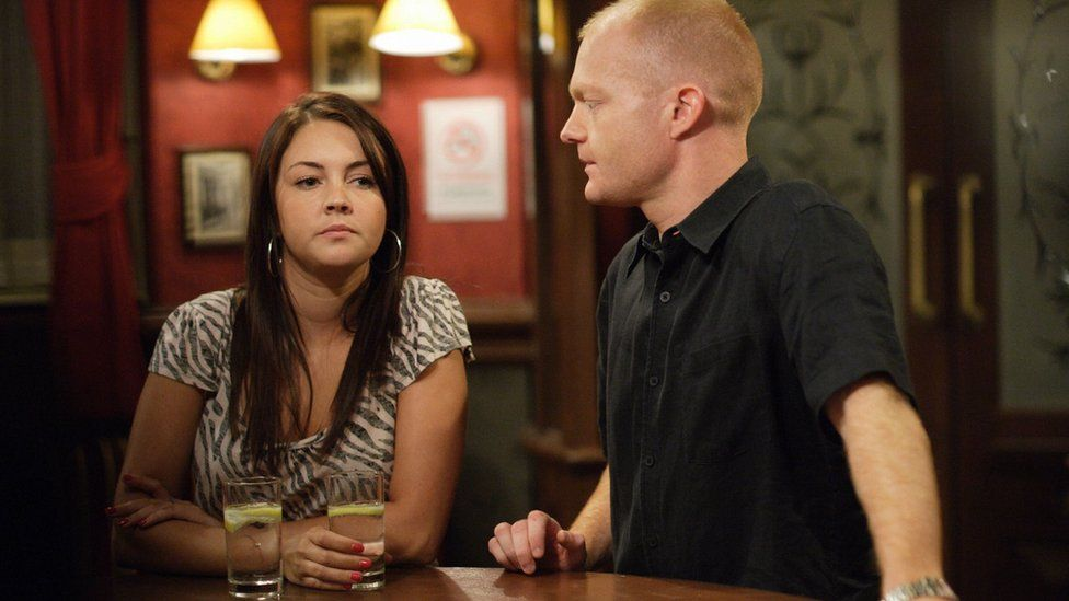 Stacey Slater and Max Branning