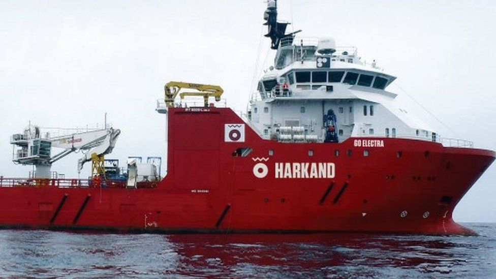 Harkand vessel