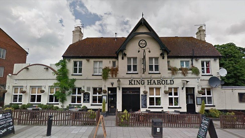 the King Harold pub