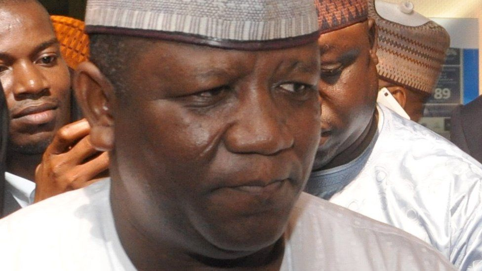 Abdulaziz Abubakar Yari, governor of Nigeria's Zamfara State