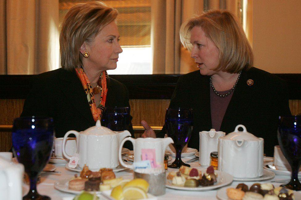 Gillibrand and Clinton