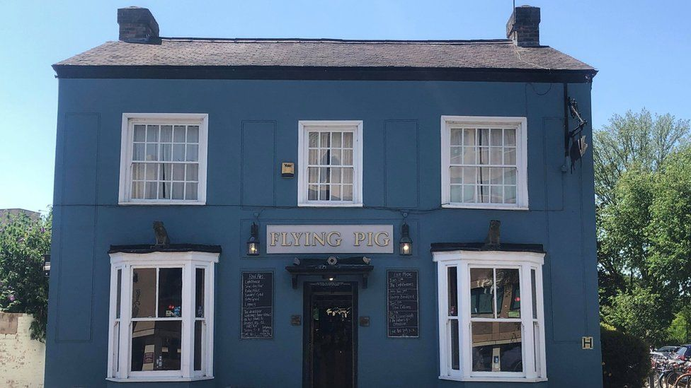 The Flying Pig on Hills Road, Cambridge is being threatened with demolition.