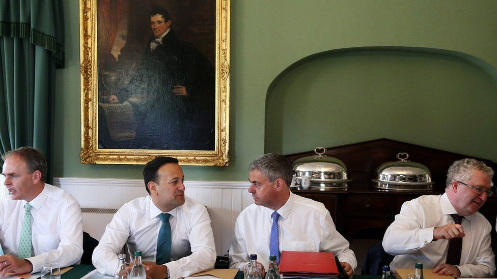 The Irish cabinet met in Derrynane House, County Kerry, to discuss Brexit preparations