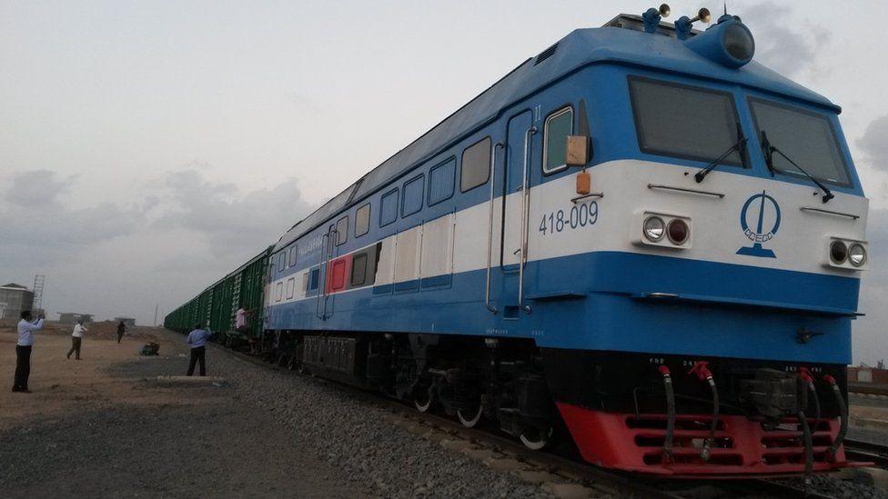 Ethiopia-Djibouti electric railway line opens - BBC News