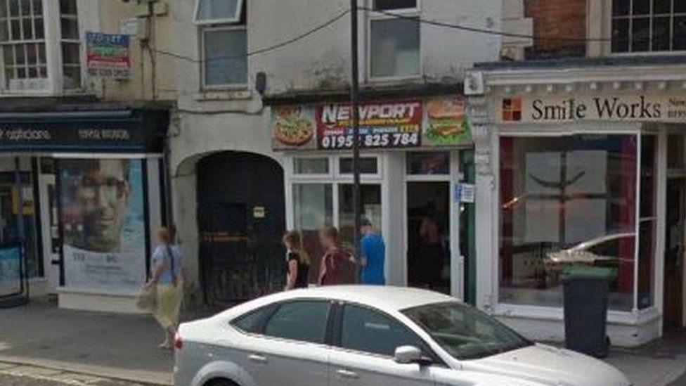The kebab house