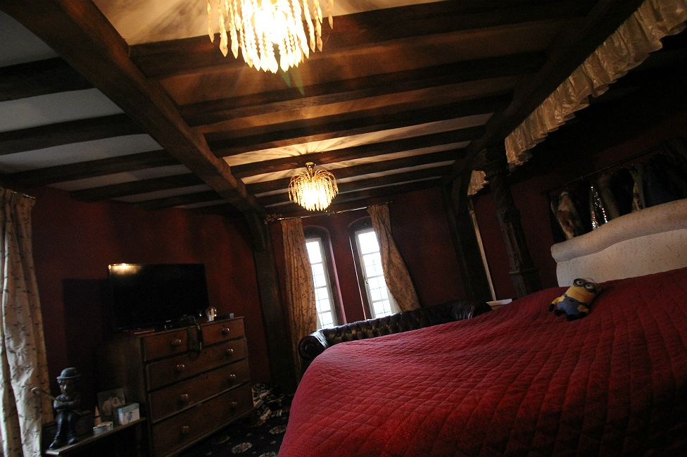 The couple's bedroom