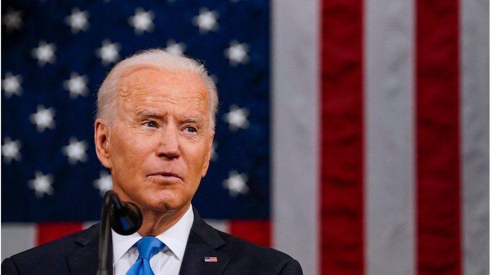 Five key moments from Biden's first speech to Congress - BBC News