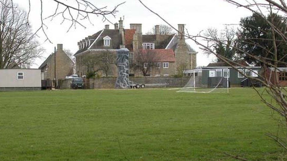 Grendon Hall in Northamptonshire