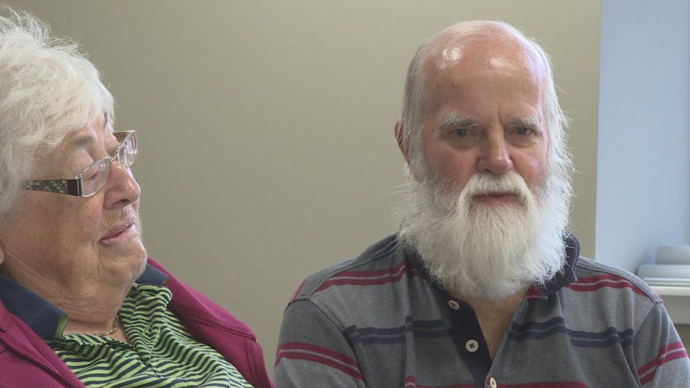 Doreen Gordon and her husband Keith